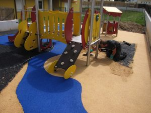 sol amortissant pour jeux enfants