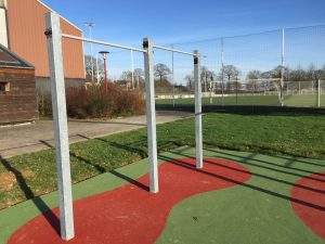 Barres fixes street workout