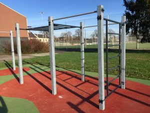 Cage de street work out d'Iffendic