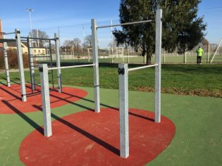 U-BARS STREET WORKOUT
